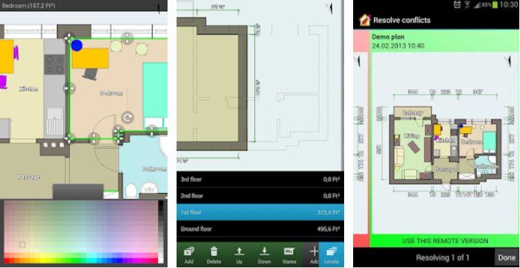 Aplikasi Desain Rumah Floor Plan Creator