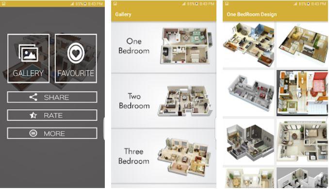 Aplikasi Desain Rumah House Plan Ideas 3D