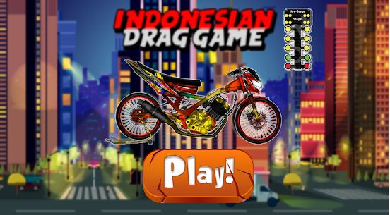 Indonesian Drag Bike Racing