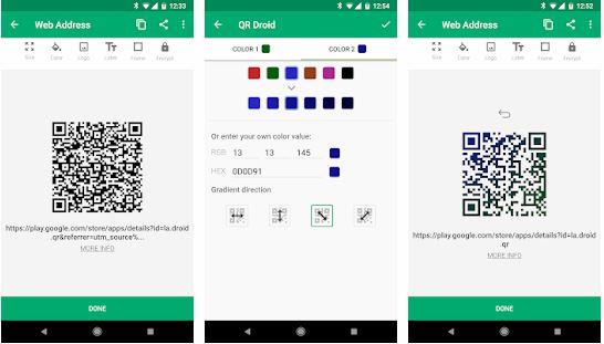 Aplikasi Barcode Scanner Qr Droid