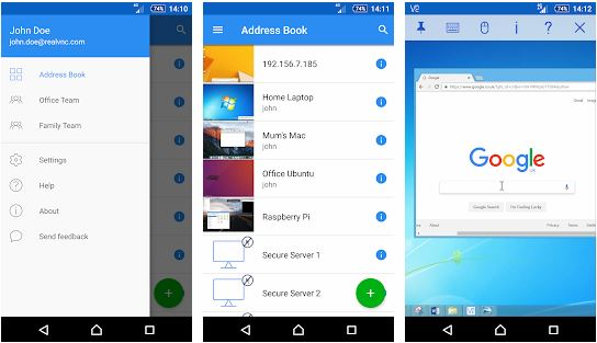 Remote Pc Android Vnc