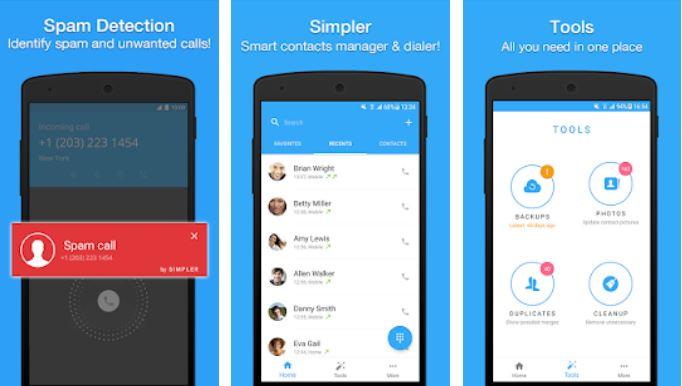 Aplikasi Kontak Simpler Caller ID