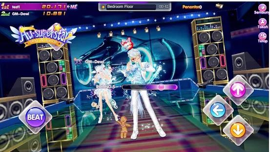 Game Menari AuSuperstar