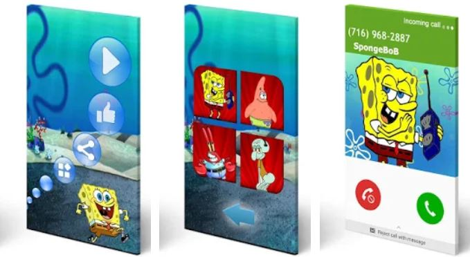 Call Simulator Spongebob