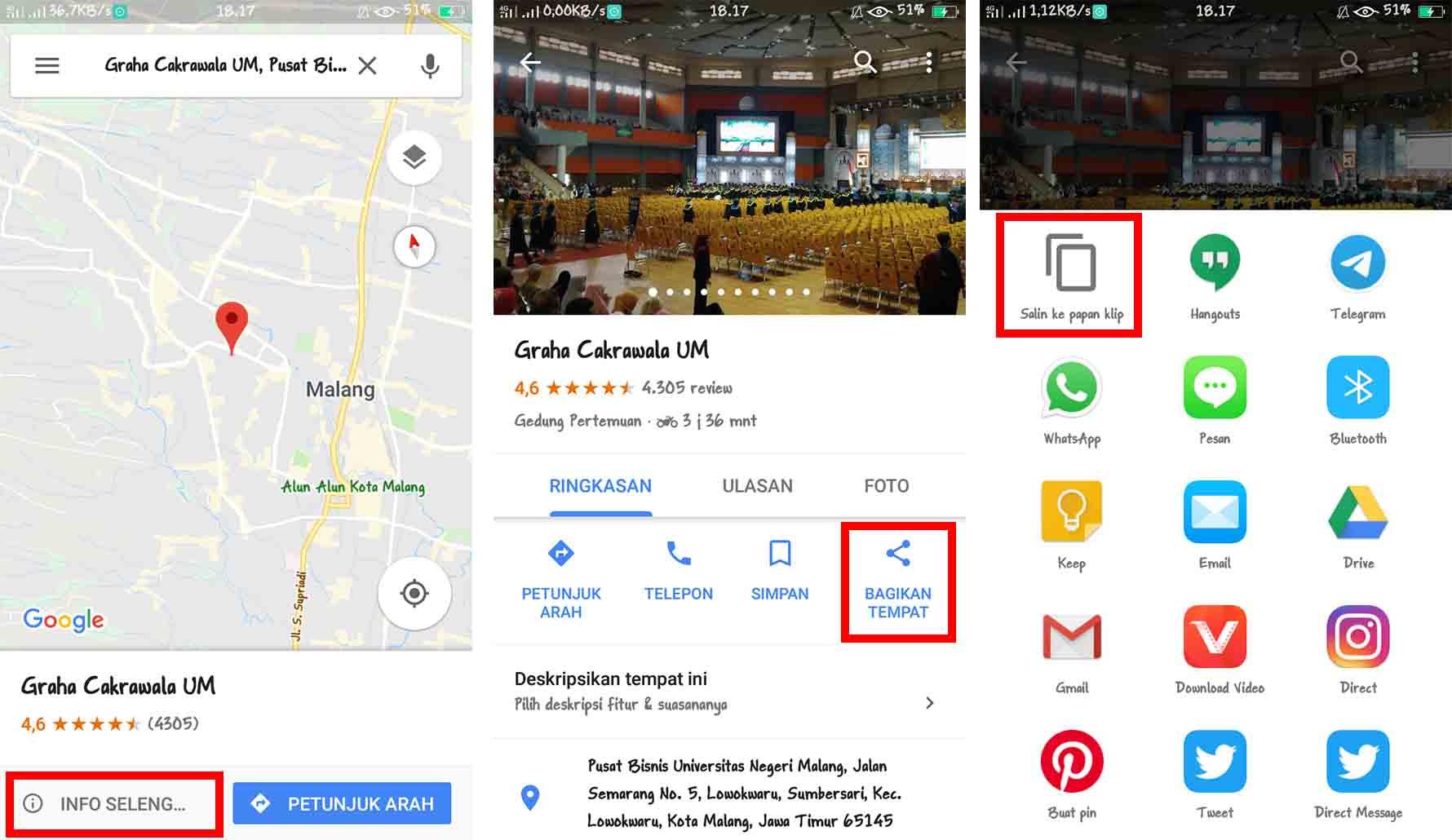 Cara Membuat Barcode Maps Tanpa Aplikasi
