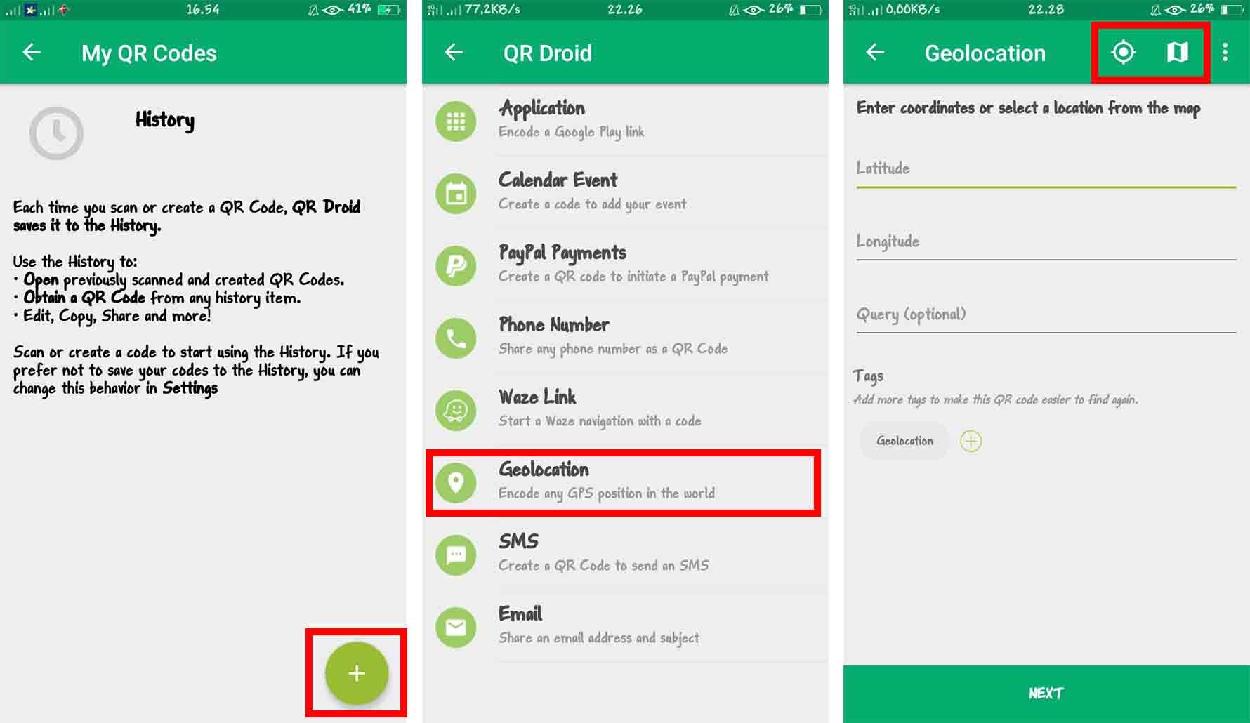 Cara Membuat Barcode Maps dengan Aplikasi