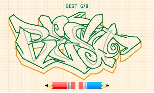 Cara Menggambar Graffiti