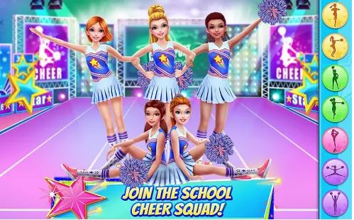 Game Menari Cheerleader Dance Off