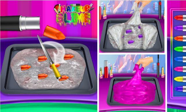 DIY Makeup Slime Maker! Simulasi Super Slime