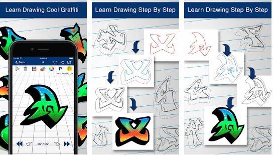 How To Draw Graffiti Latters