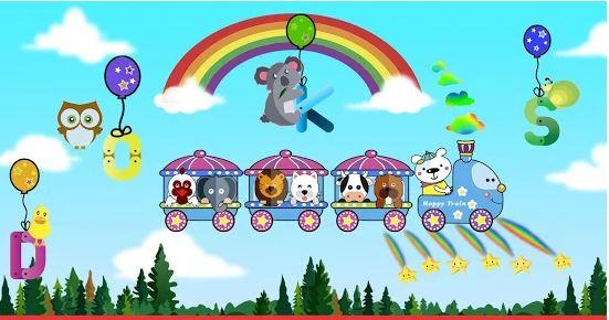 Kereta Terbang - Permainan untuk anak-anak