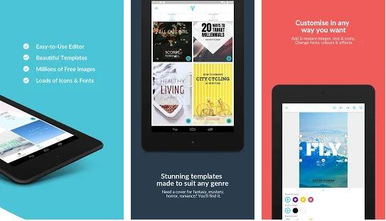 Pembuat Kover Wattpad & eBook oleh Desygner