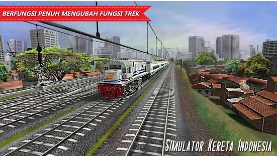 Game Kereta Api Simulator Kereta Indonesia