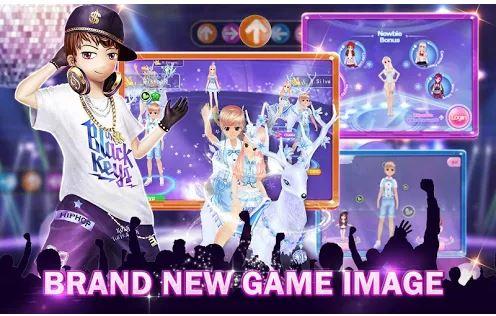 Game Menari Super Dancer