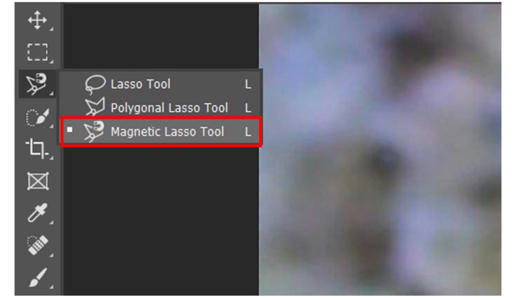 Cara Memotong Gambar di Photoshop Menggunakan Magnetic Lasso Tool