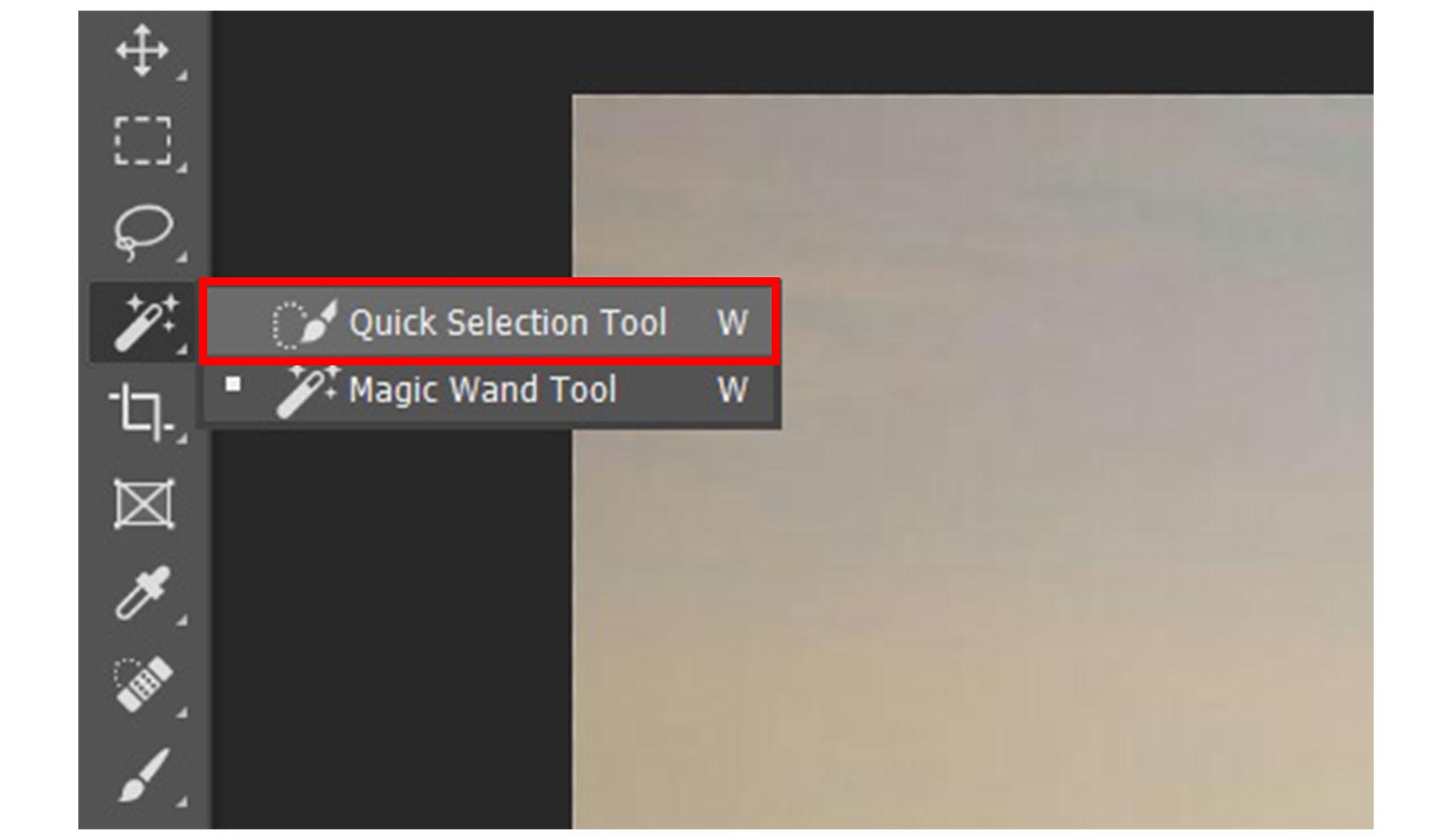 Cara Memotong Gambar di Photoshop Menggunakan Quick Selection Tool