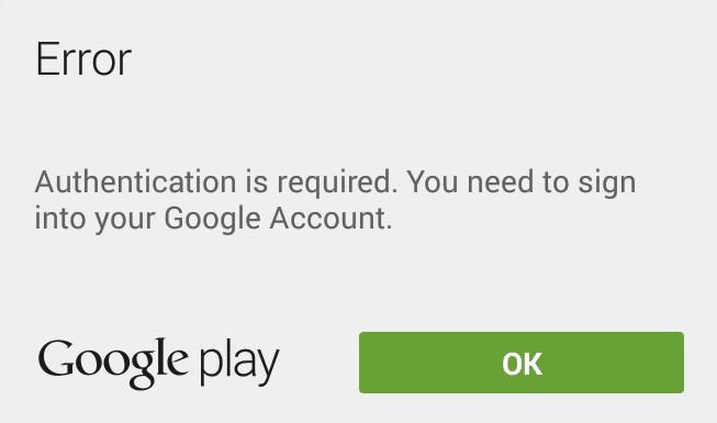 Mengatasi Autentikasi Akun Google