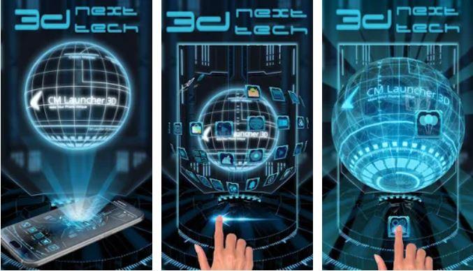 3D Next Tech Theme