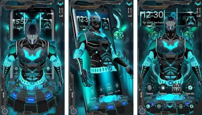 3D Tech Hero Theme