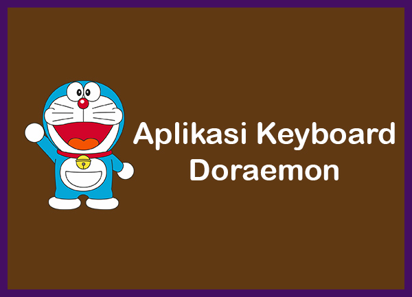 Aplikasi Keyboard Doraemon