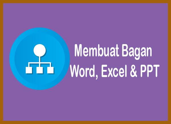 Cara membuat bagan di miscrosoft word, excel dan powerpoint