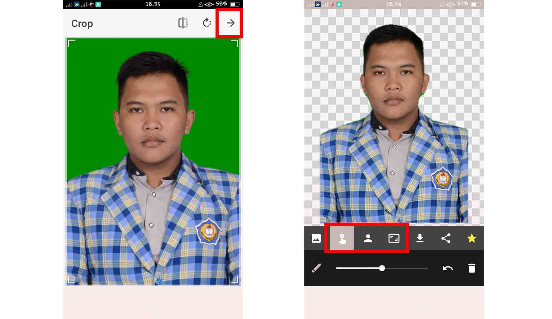Cara Mengganti Background Foto dengan Automatic Background Changer