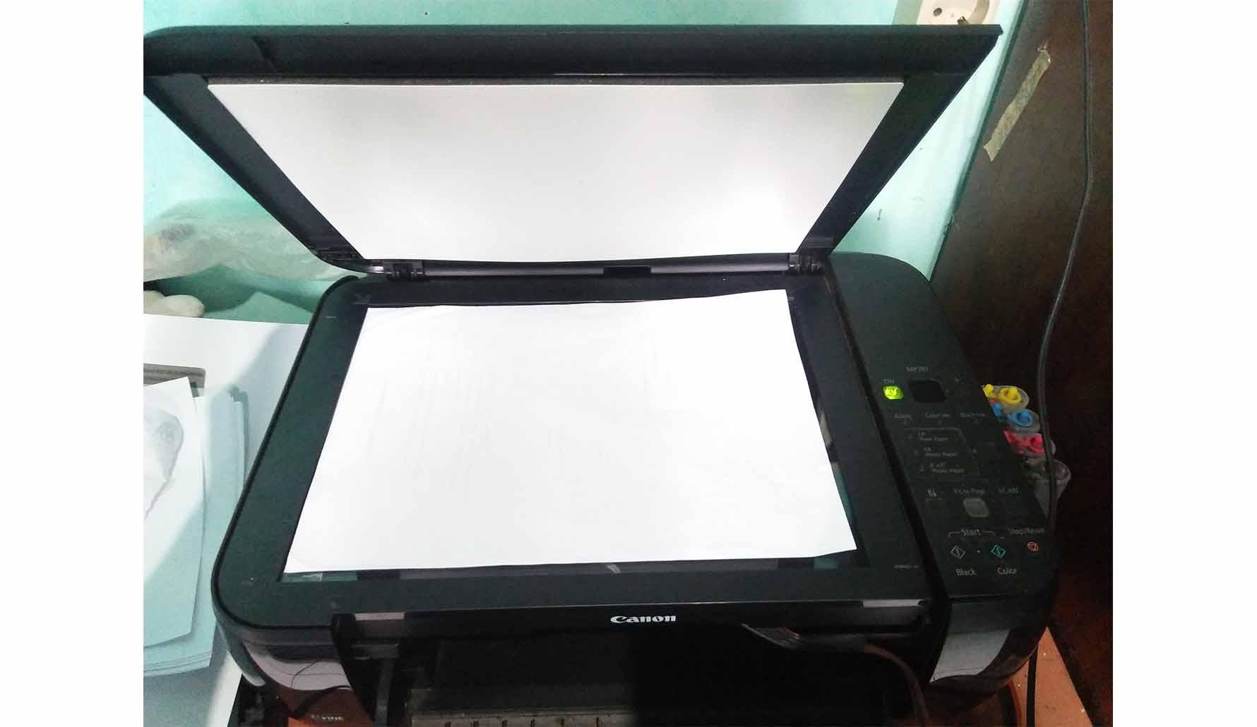 Cara Scan Dokumen Menggunakan Printer