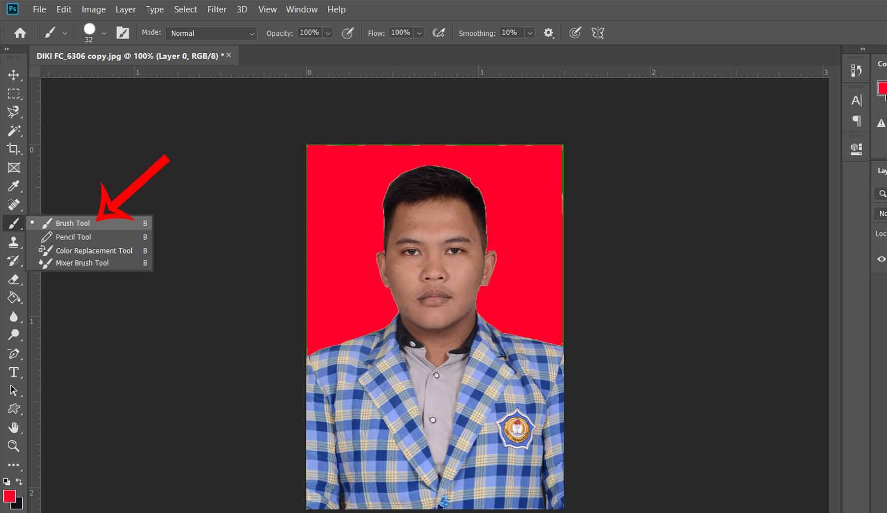Dengan Photoshop