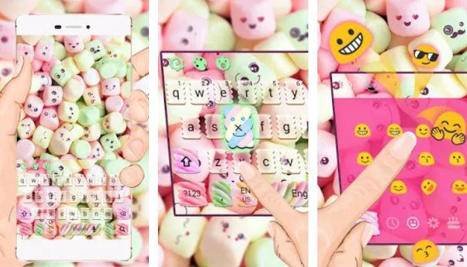 Marshmallow Keyboard Theme