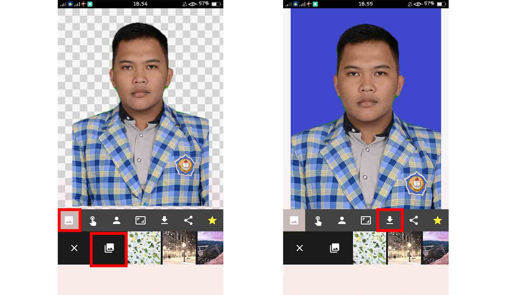 dengan Automatic Background Changer