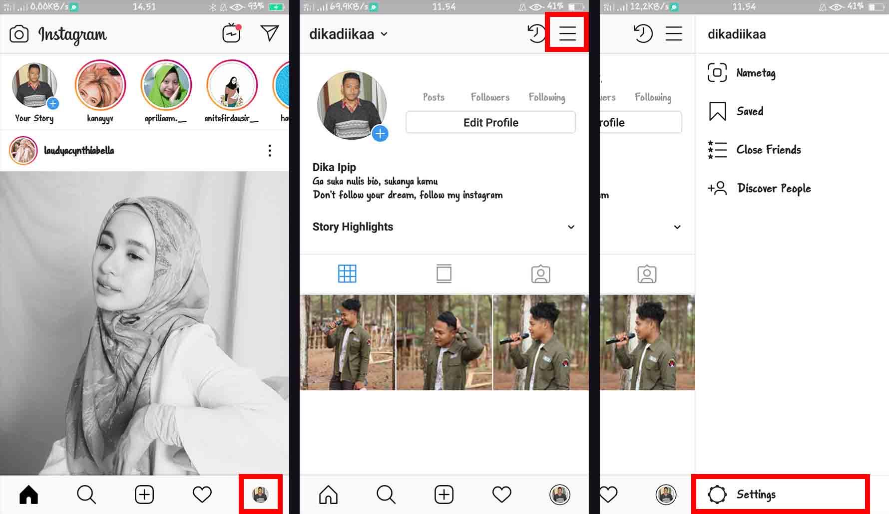 Cara Mengganti Bahasa di Instagram dari Aplikasi Instagram
