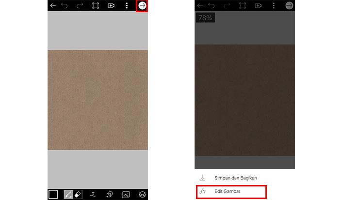 cara membuat cover highlight instagram dengan picsart