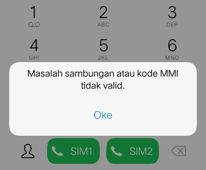kode mmi tidak valid