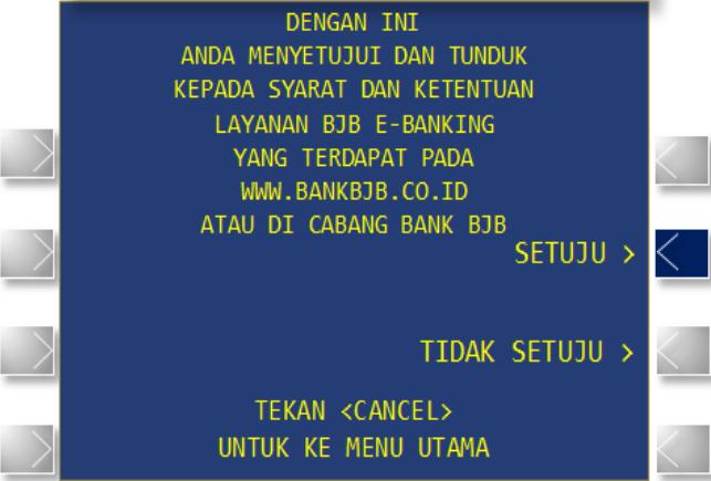 cara aktivasi bjb sms banking