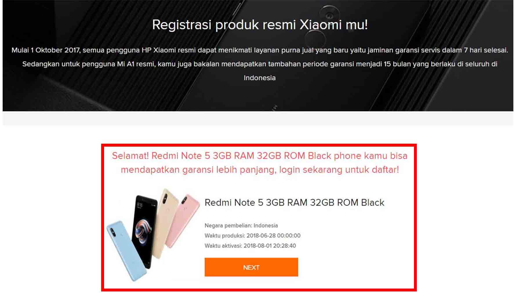 Cara Cek Garansi Xiaomi