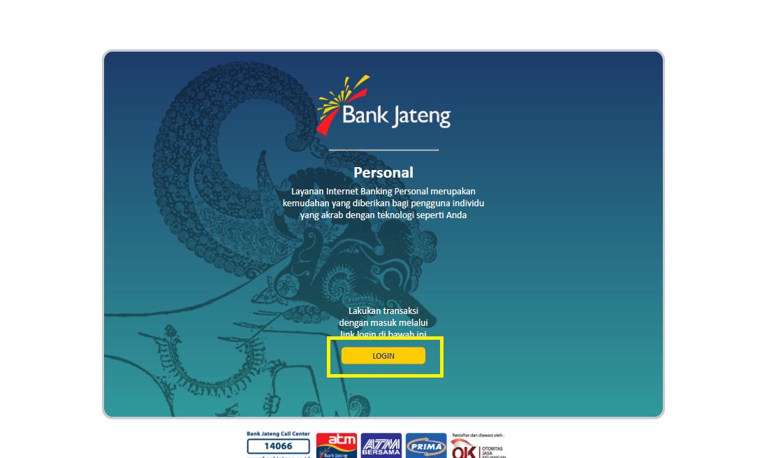 Cara Daftar Internet Banking Bank Jateng Online