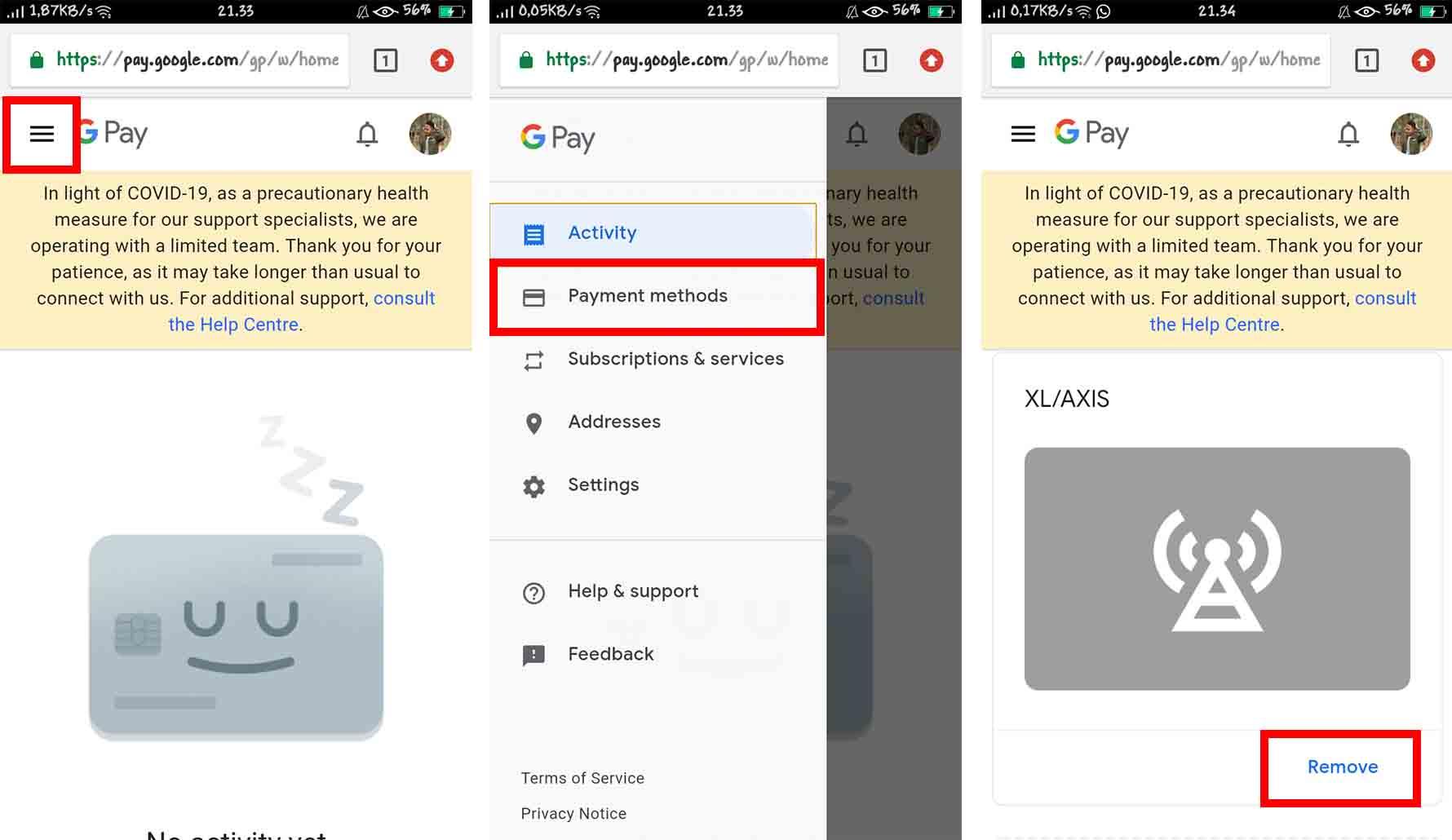 Cara Mengatasi Metode Pembayaran Google Play Ditolak