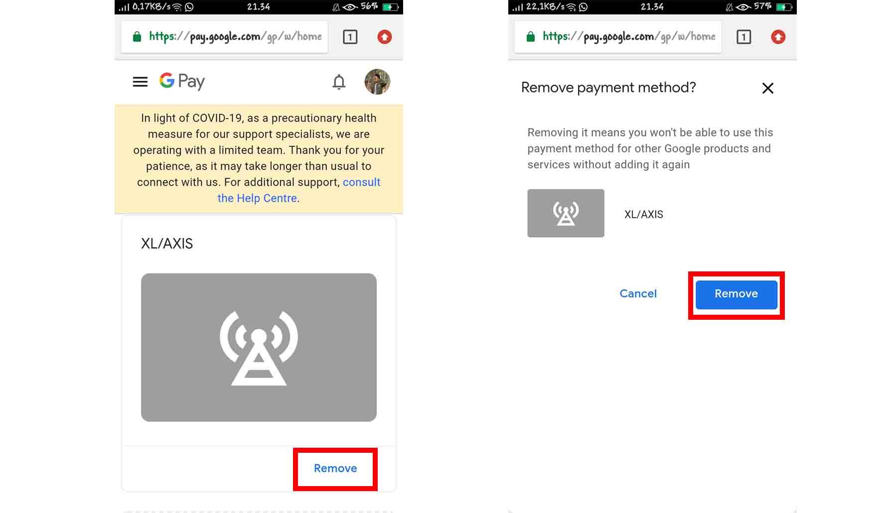 Cara Menghapus Metode Pembayaran Google Play
