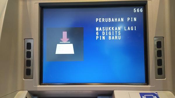 Cara Merubah PIN ATM