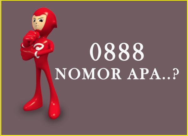 0888 nomor apa, kartu apa dan no daerah mana