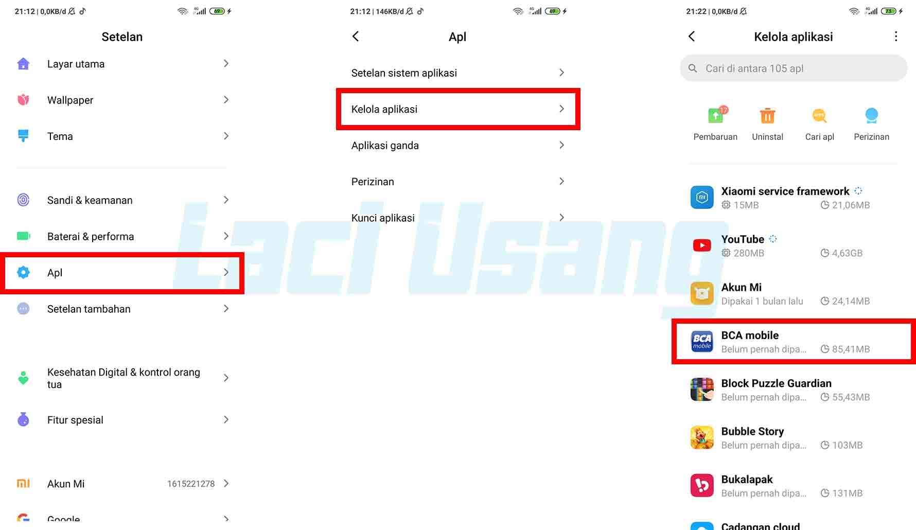 Cara Mengatur Akses Izin Pengguna Aplikasi BCA Mobile