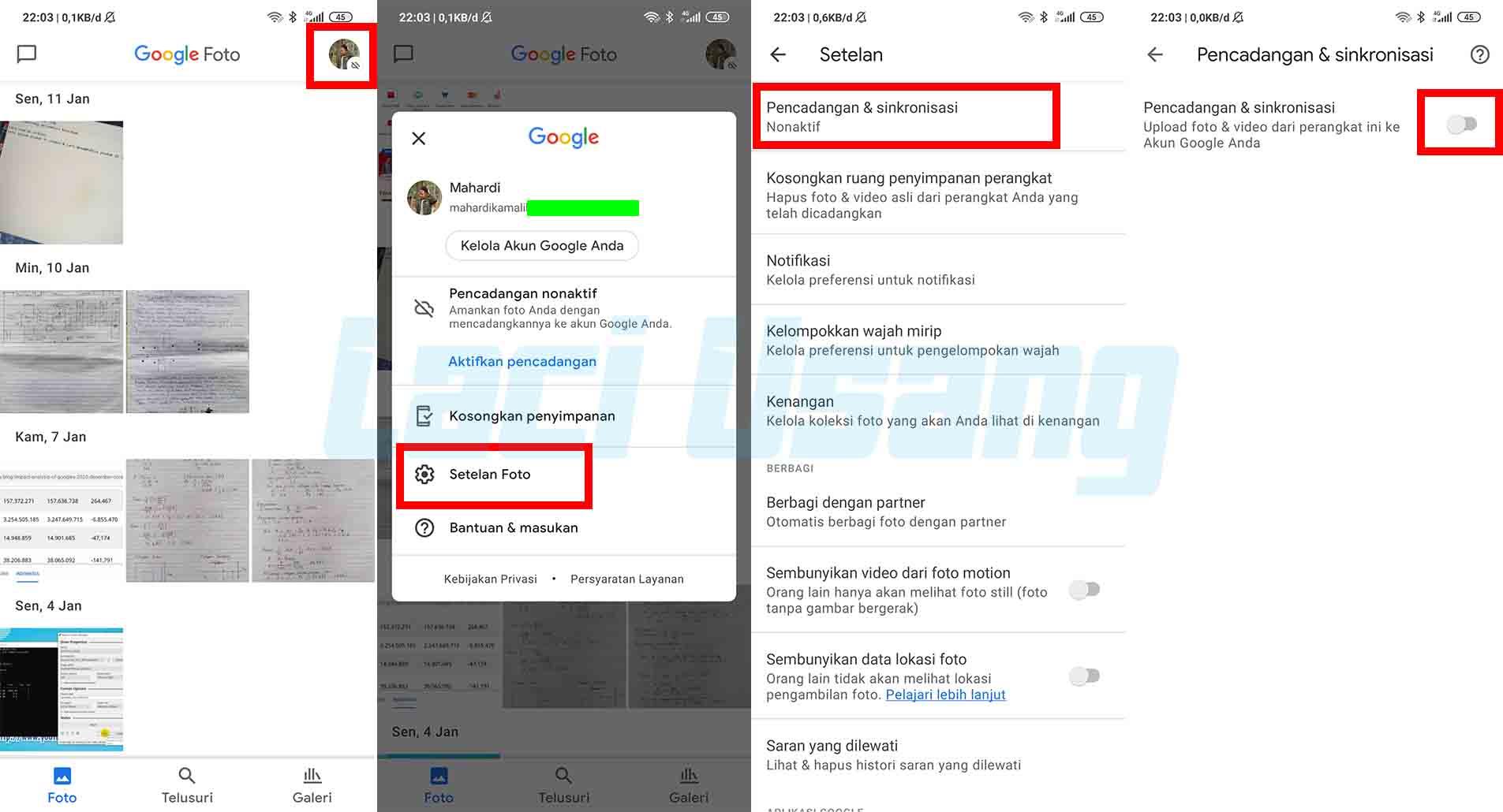 Cara Menyimpan Foto di Google Drive Secara Otomatis