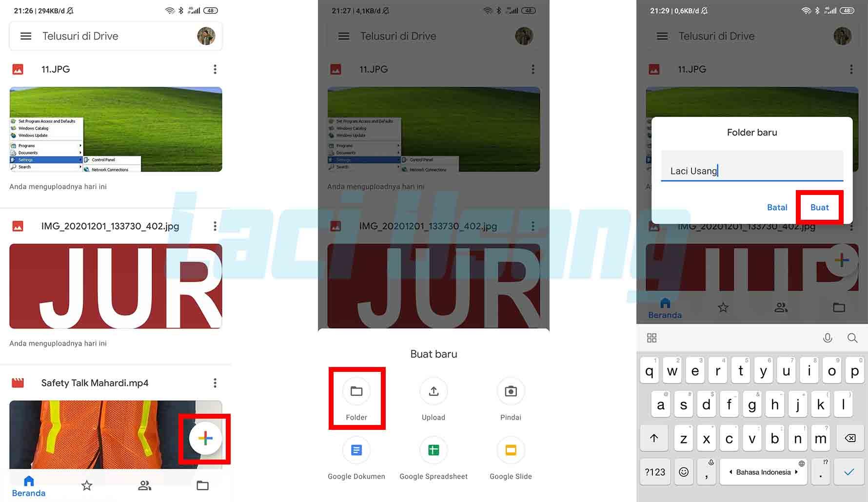 Cara Menyimpan Foto di Google Drive
