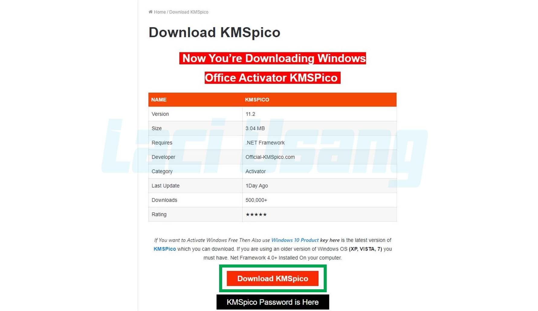 KMSpico Untuk Aktivasi