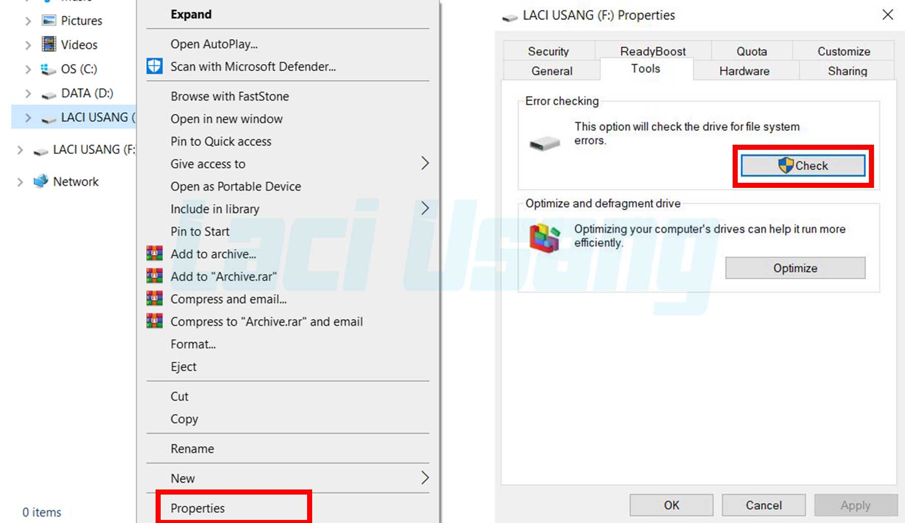 Cara Mengatasi micro SD Windows Was Unable To Complete The Format