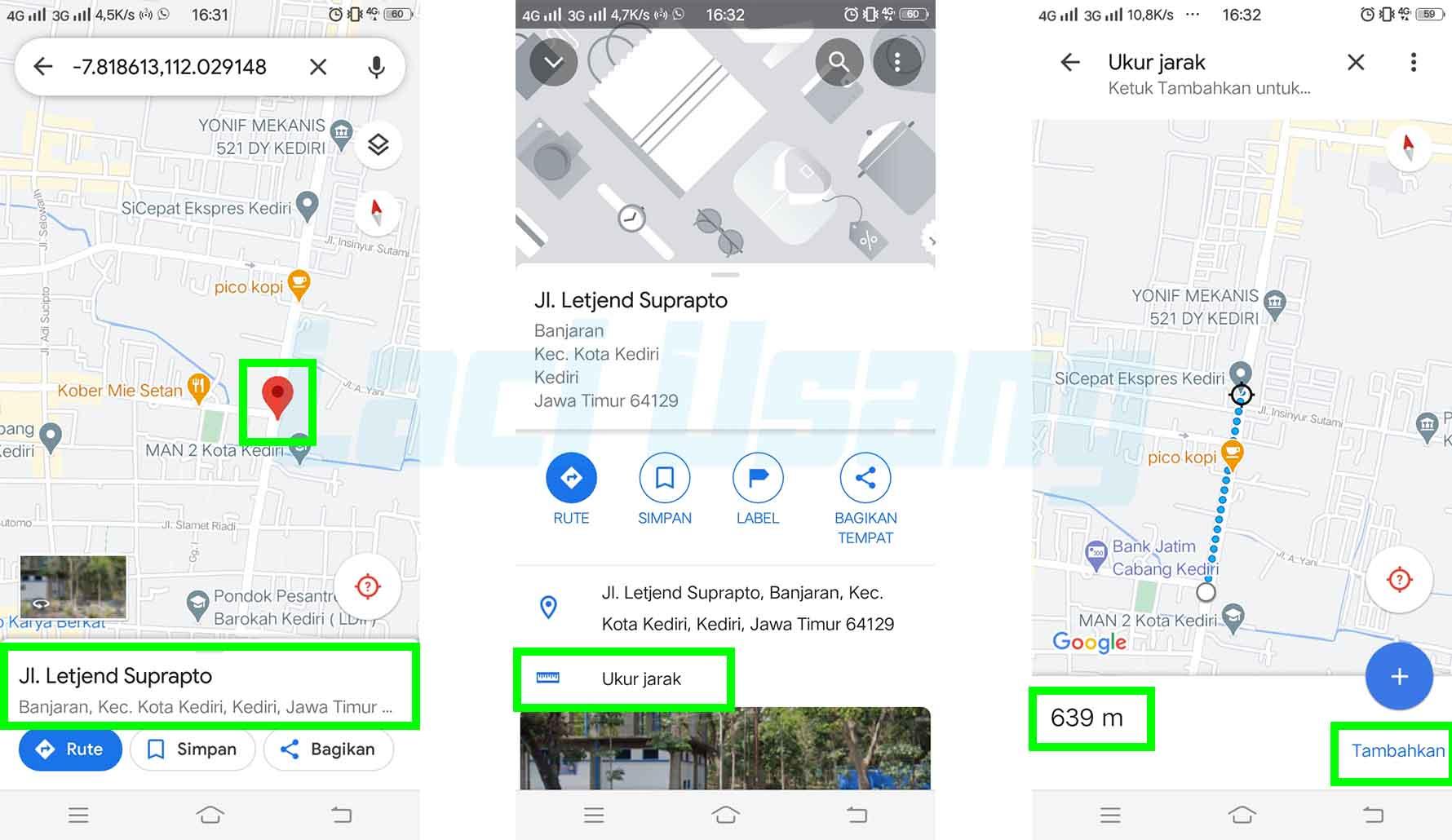 Cara Mengukur Jarak di Google Maps