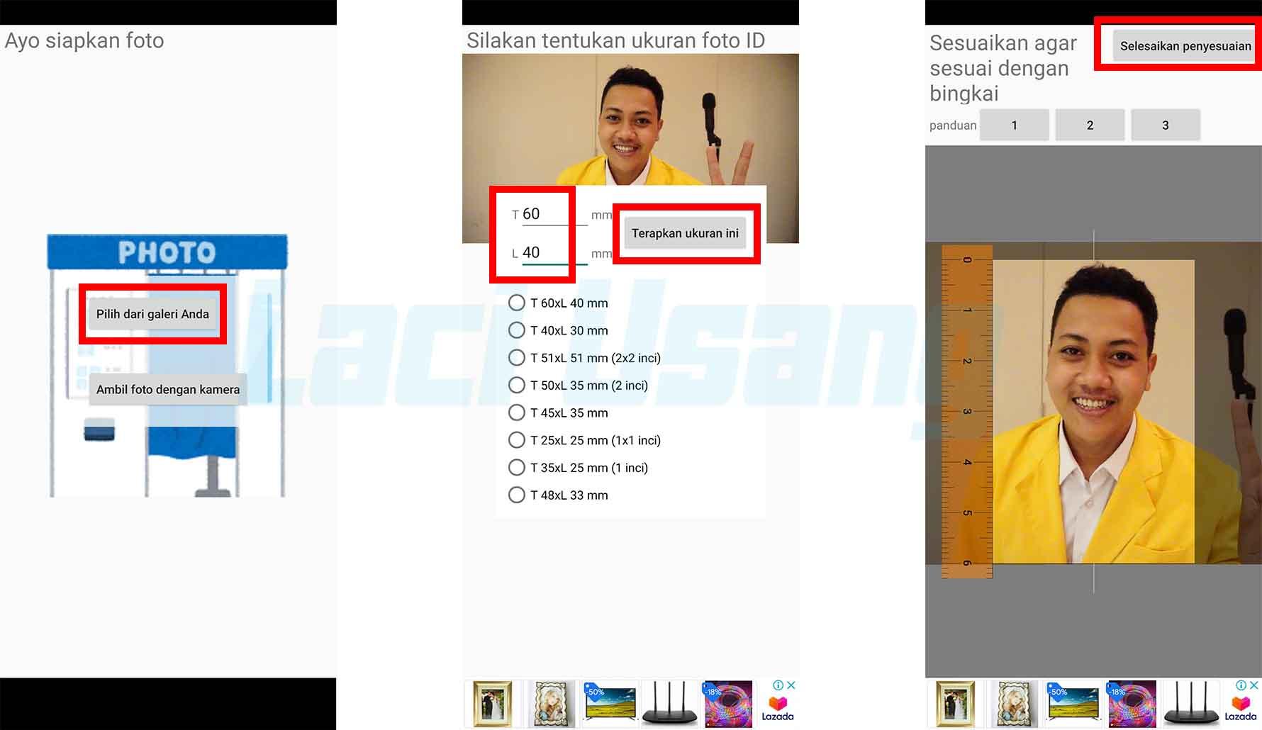 Cara Ubah Ukuran Foto Menjadi 4x6 Di Android